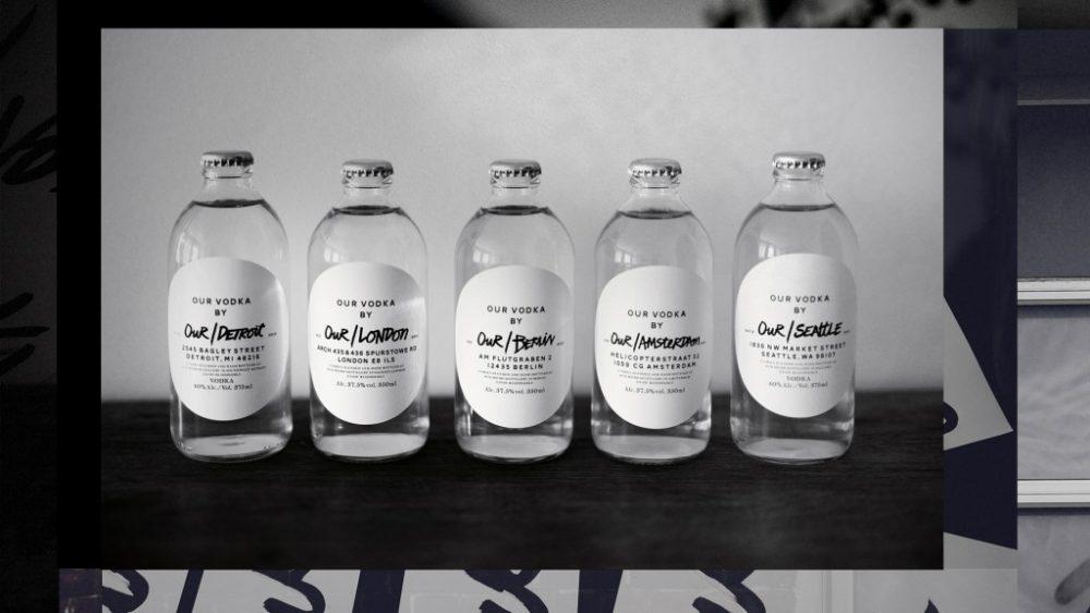 Our Vodka range